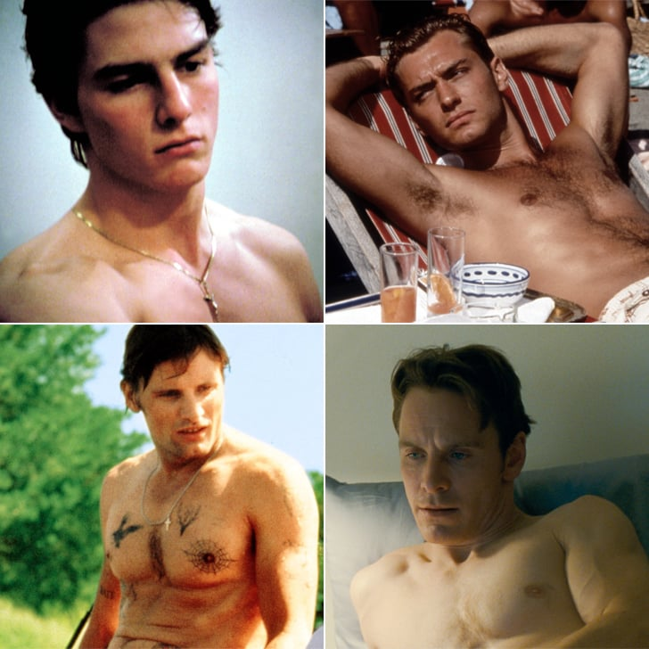 nudity Male hollywood actor frontal
