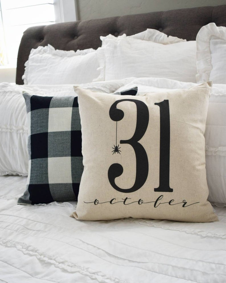 October 31 Pillow Cover