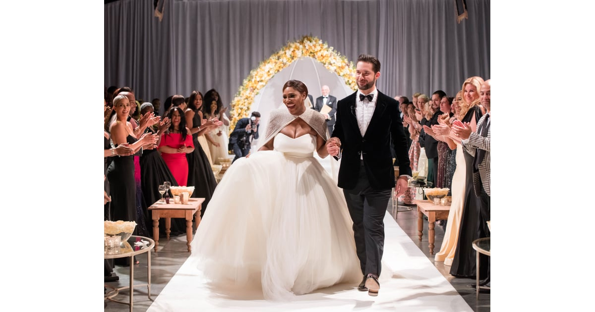 Serena Williams Married Alexis Ohanian In An Alexander