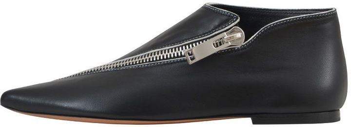 Céline Zipped Low Boots | Taylor Swift
