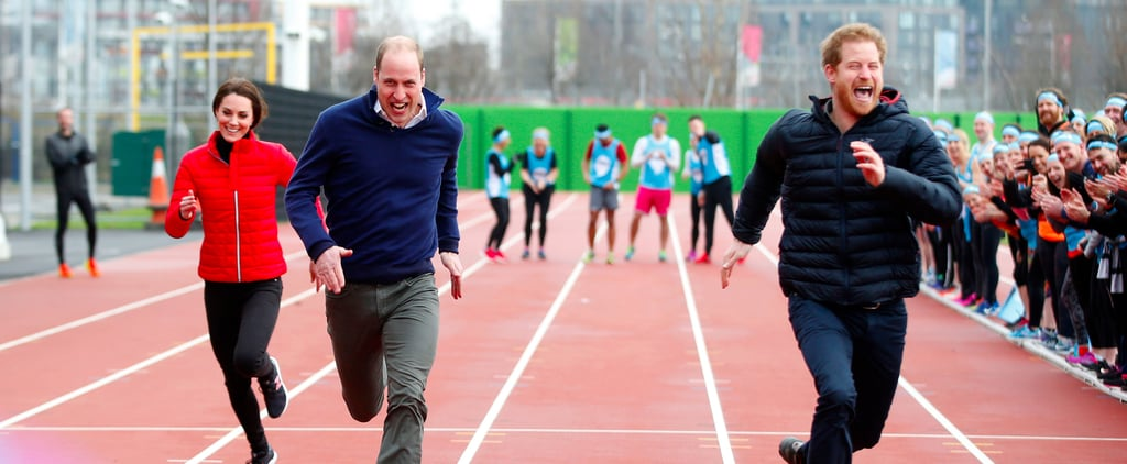 Kate Middleton Shows Her Competitive Spirit at a Charity Race With William and Harry