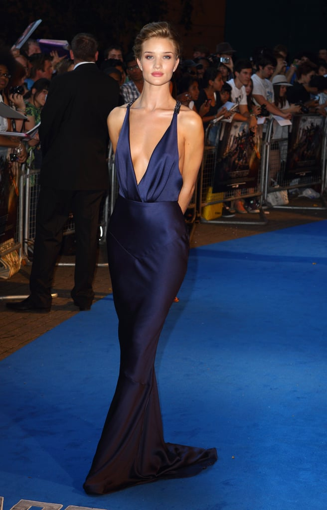 Rosie Huntington-Whiteley at a Transformers: Dark of the Moon premiere in London.