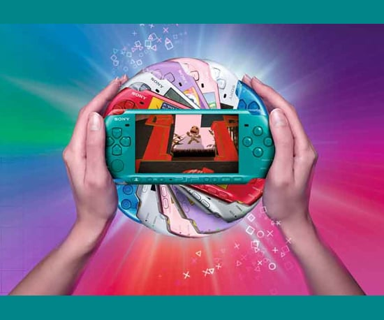 Sony PSP Gets New Bright Colors