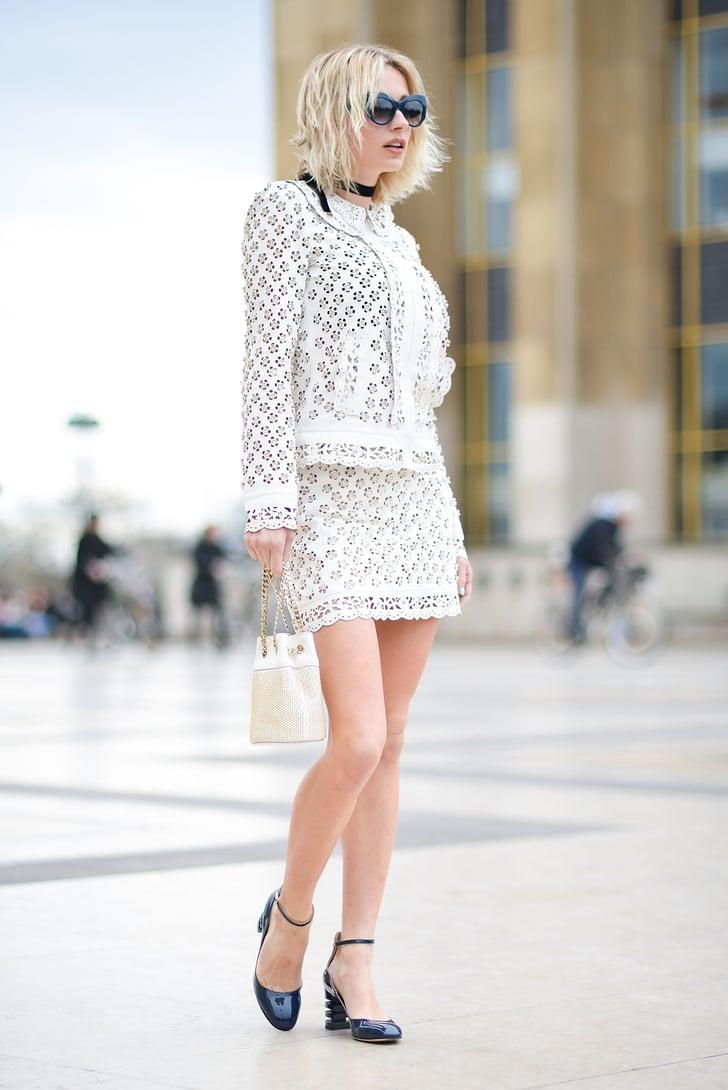 Street Style At Paris Haute Couture Fashion Week Spring 2016 Street Style Haute Couture