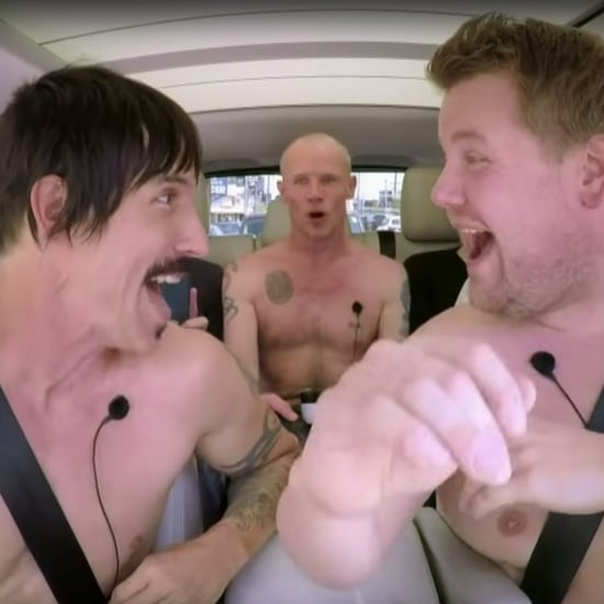 Red Hot Chili Peppers, James Corden Carpool Karaoke Video