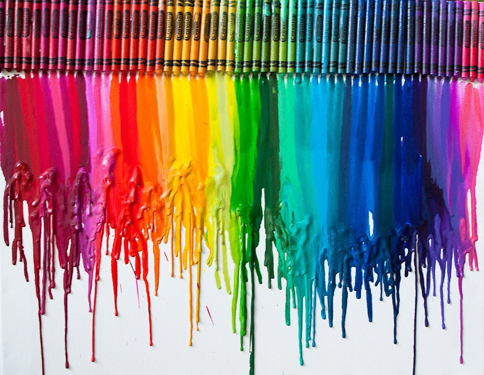 Cool Crayon Art Kids Room Diy Projects Popsugar Family Photo 4