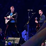 Chris Martin took the stage for the Paralympics closing ceremony.