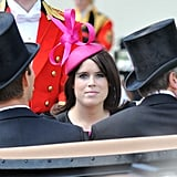 Princess Eugenie attended Royal Ascot Ladies Day in June 2010.