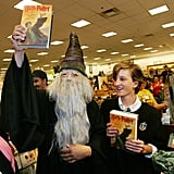 When This Dumbledore Fan Wore His Best Getup to a Book Release