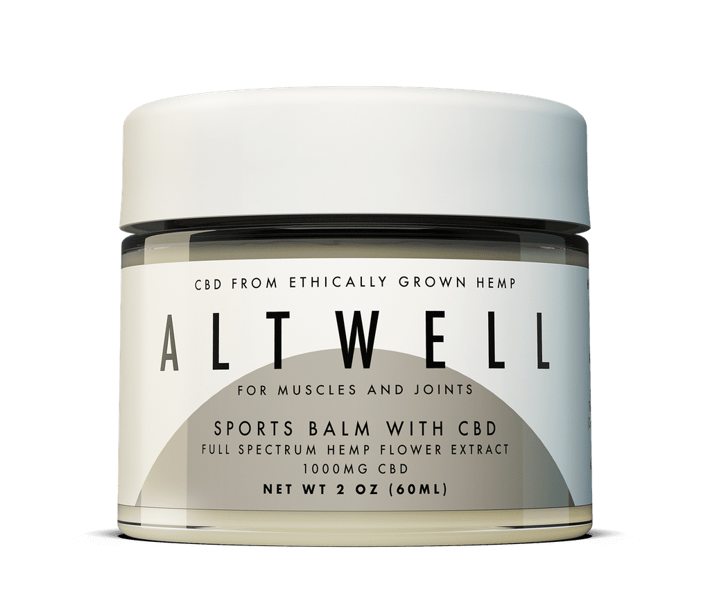 Altwell Sports Balm With CBD