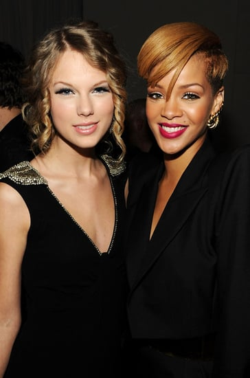 Rihanna,Mariah and Taylor attend the Launch of VEVO