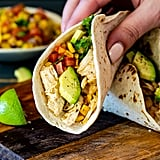 Shredded Chicken Tacos With Corn Salsa
