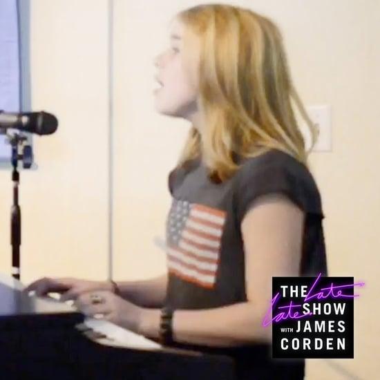 Billie Eilish Singing Alicia Keys' Fallin' Home at Age 12