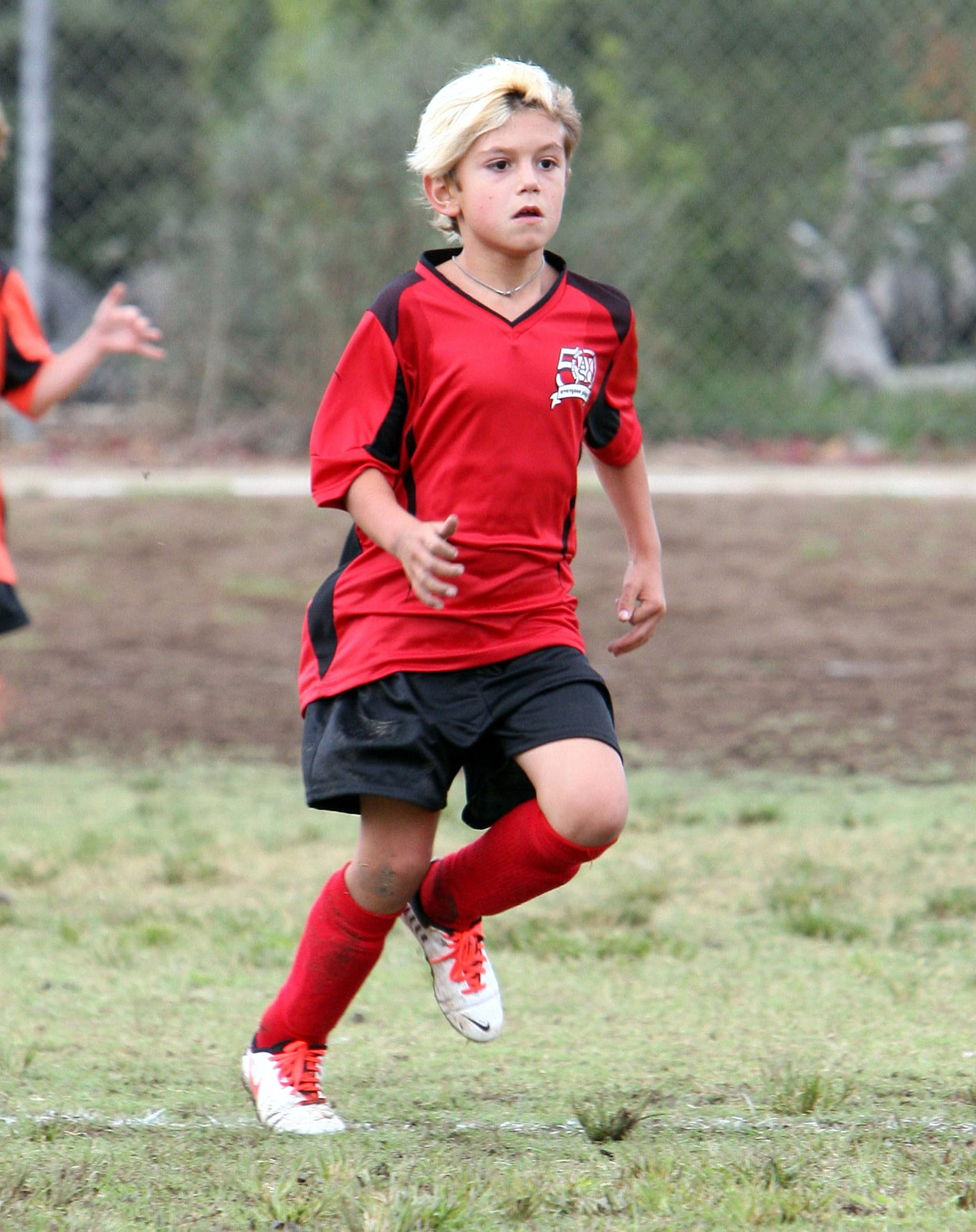 Kingston Rossdale played soccer.