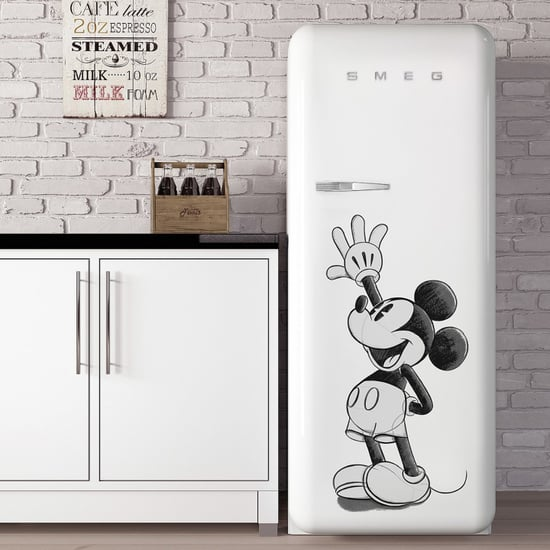 Shop Smeg's Mickey Mouse Refrigerator