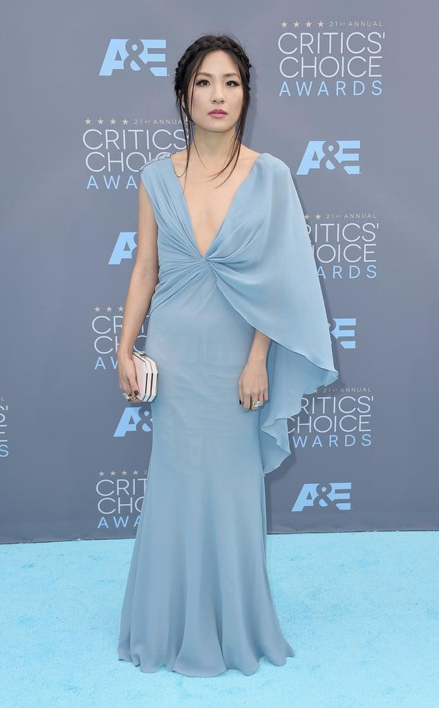 Constance Wu | Blue Dresses Trend at Critics\' Choice Awards 2016 ...