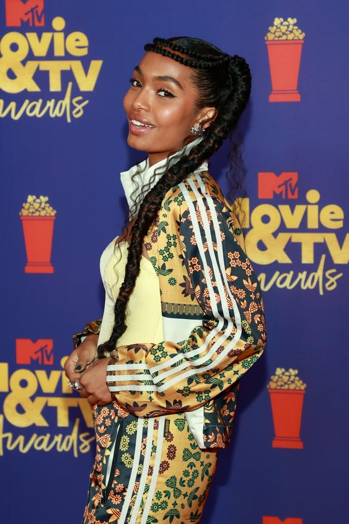 Yara Shahidi's Adidas Originals Tracksuit at the MTV Awards