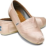 TOMS Petal Grosgrain Light Pink Slip-On Sneakers ($54)