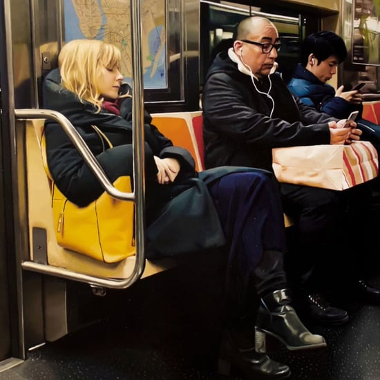 Devon Rodriguez Draws People on the Subway | TikTok Videos