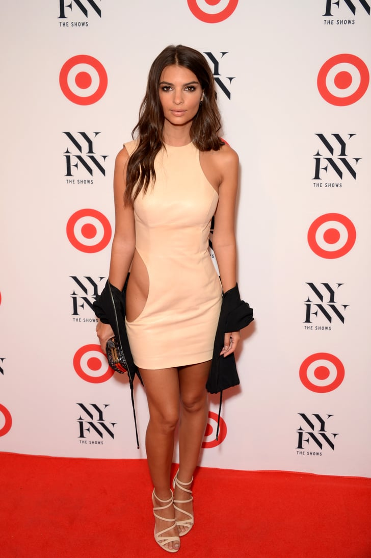 2016 Target Party Emily Ratajkowski S Sexiest Dresses
