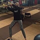 We love TRX too, Ashley Benson.