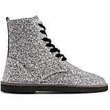 Golden Goose Deluxe Brand Glittered Ankle Boots