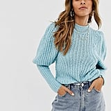 ASOS DESIGN Balloon-Sleeve Sweater