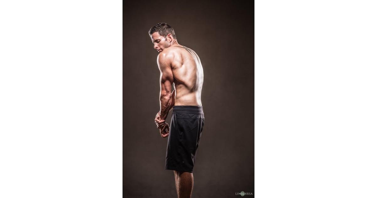 Tarek El Moussa Shirtless Fitness Photos Popsugar Home