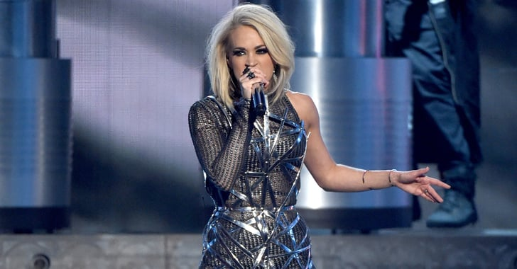 Carrie Underwood Performance Dress At Acm Awards 2016