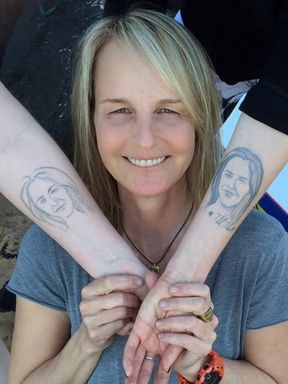 Helen Hunt's Daughter Shows Off Her Helen Hunt Henna Tattoo!