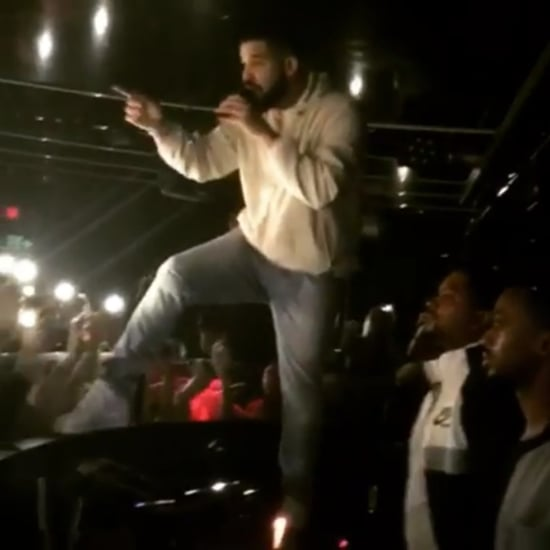 Drake Calls Out Fan Groping Woman at a Club November 2017