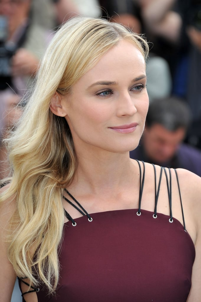Diane Kruger posed for the jury photocall in Cannes.