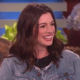 Anne Hathaway Talks First Birthdays on Ellen