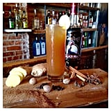 """The bar's version of a dark and stormy —""""house-infused spiced rum using Gosling"""" — is called The Shacklebolt after Auror turned Minister of Magic Kingsley Shacklebolt."""