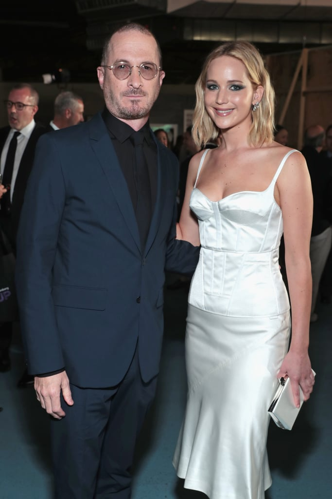 "Who says exes can't be friends? On Tuesday, Jennifer Lawrence reunited with her former director and boyfriend Darren Aronofsky at the BAM Gala in NYC. Aside from catching up backstage and posing for a few photos together, the Red Sparrow actress also presented Darren with an award on stage. ""I am thrilled to be here tonight to present this honor to my very good friend, Darren Aronofsky,"" she told the crowd.  The two first met on the set of their thriller Mother! in 2016, and developed a relationship shortly after filming wrapped. Though they were very private about their romance, Jen did briefly open about Darren during an interview with Vogue in August 2017. ""We had energy,"" she said. ""I've been in relationships before where I am just confused. And I'm never confused with him."" After making their red carpet debut as a couple during the NYC premiere of Mother! in September 2017, the two eventually called it quits in November.       Related:                                                                                                           4 Men Jennifer Lawrence Graciously Allowed Into Her Heart"
