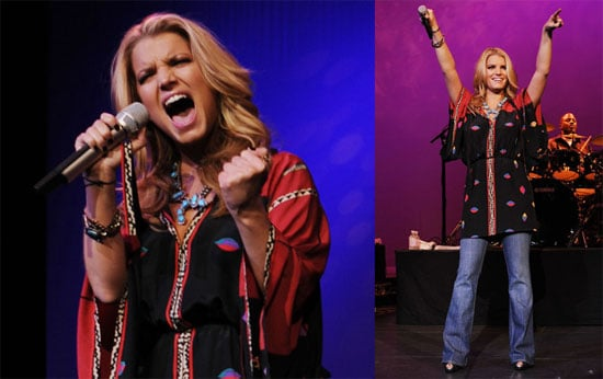 Photos of Jessica Simpson at Nina's Night Out Concert at the Palms Hotel's Pearl Theater in Las Vegas