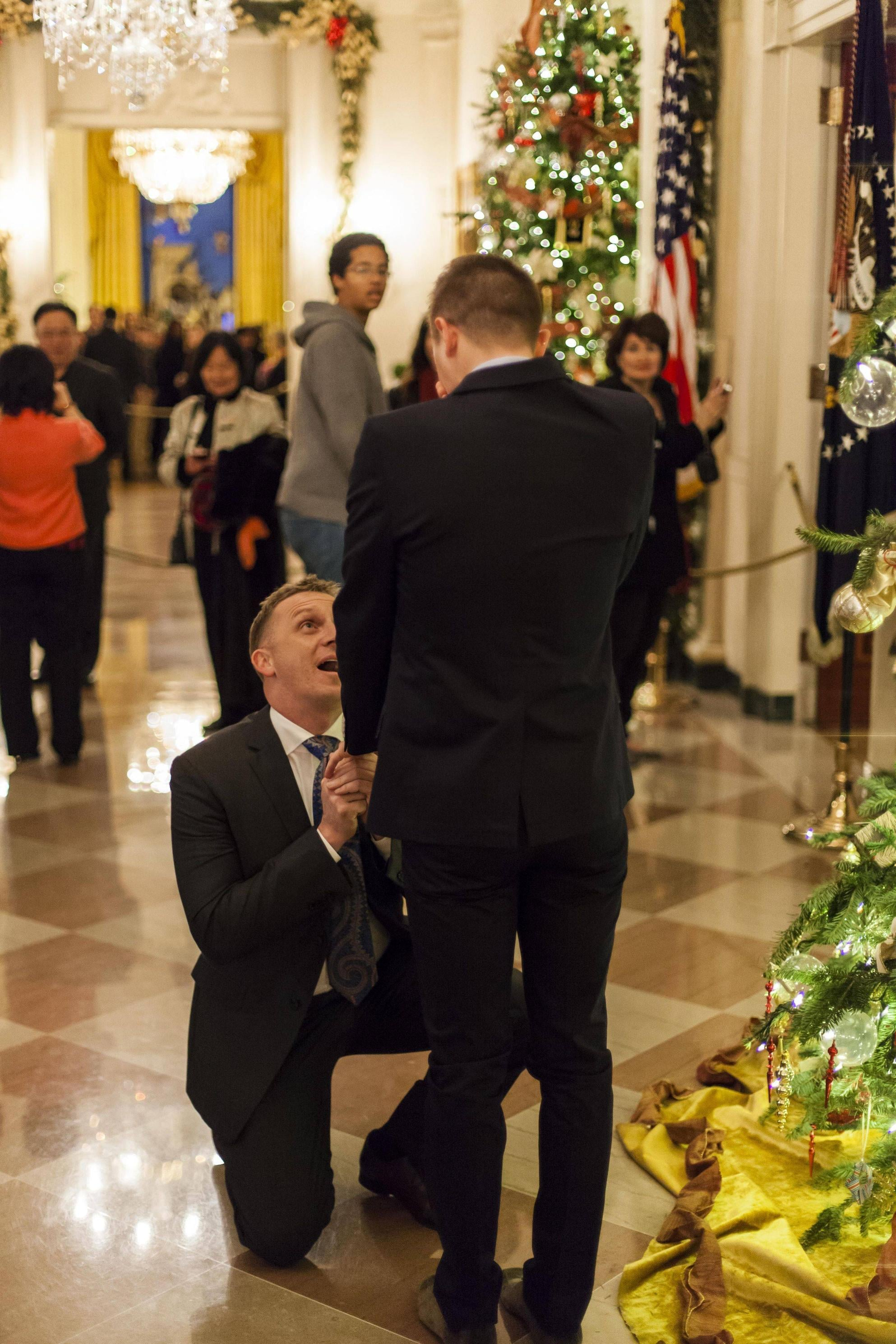 How Many People Can Say They Got Engaged at the White House?