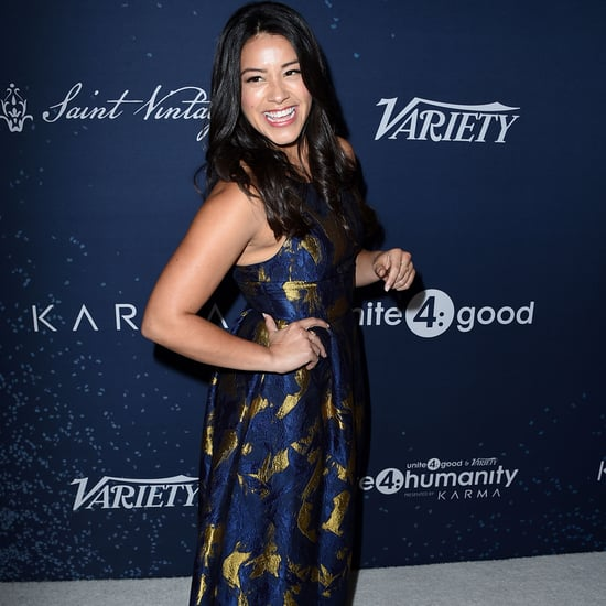 Gina Rodriguez Accepts Young Humanitarian Award 2016