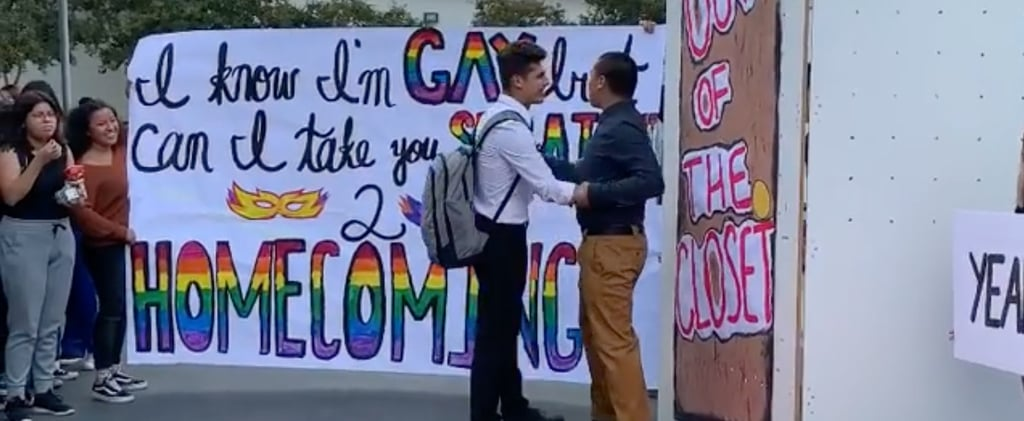 Gay Teen Asks Straight Friend to Homecoming