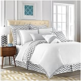 Jill Rosenwald Copley Collection Buckley Chevron Duvet, Full/Queen ($145)
