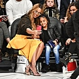 Related:                                                                                                           Nothing Stops Beyoncé and Blue Ivy From Taking a Selfie — Including the NBA All-Star Game
