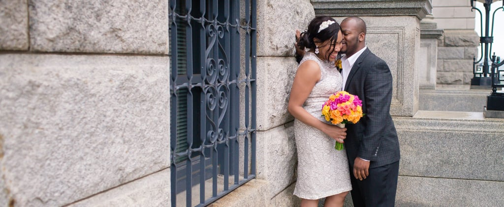 This Sweet Wedding For 2 Wasn't Your Ordinary Courthouse Elopement