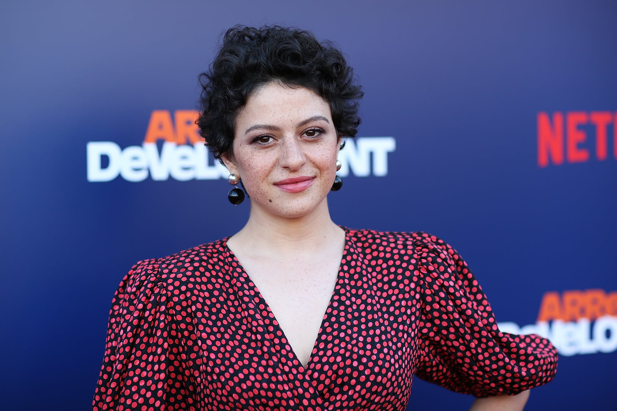 LOS ANGELES, CA - MAY 17:  Alia Shawkat attends the premiere of Netflix's