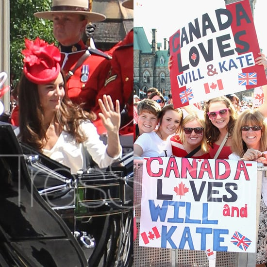 Prince William and Kate Middleton Canada Day Pictures