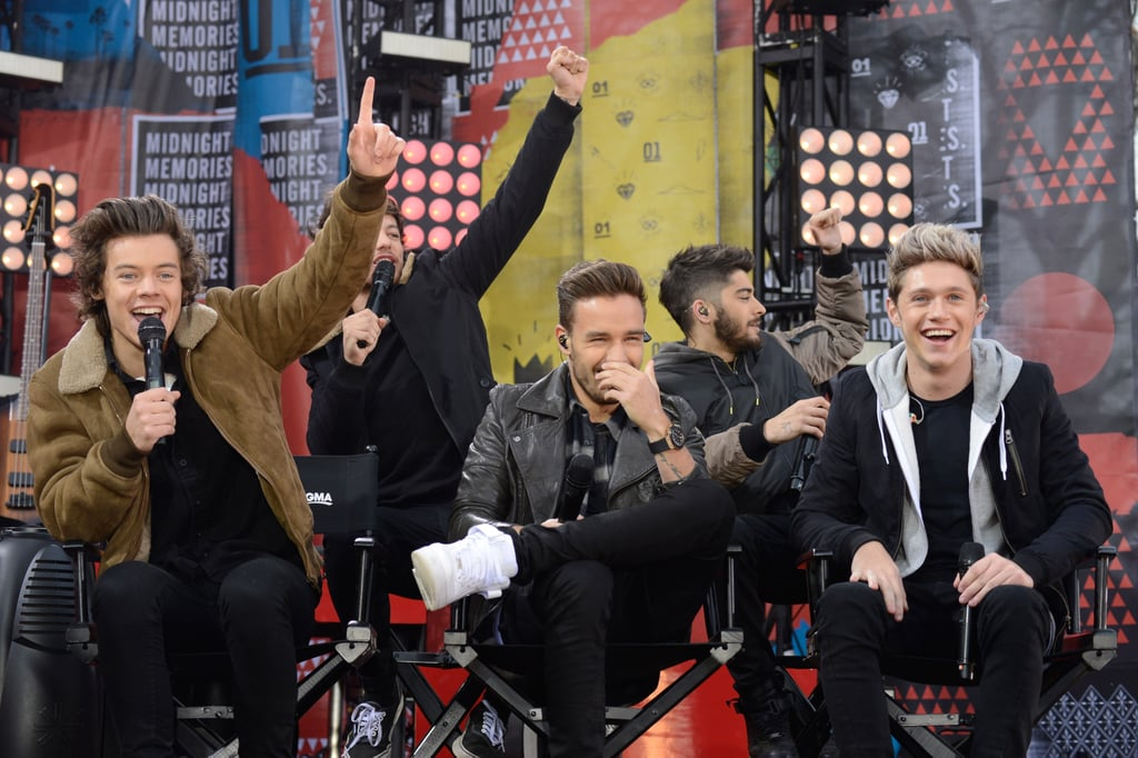 One Direction on Good Morning America in 2013
