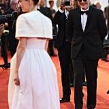 Rooney Mara and Joaquin Phoenix at the Joker Premiere