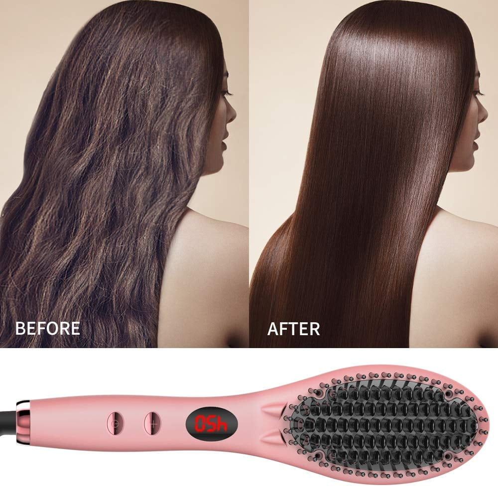 GLAMFIELDS Straightening Brush 2.0