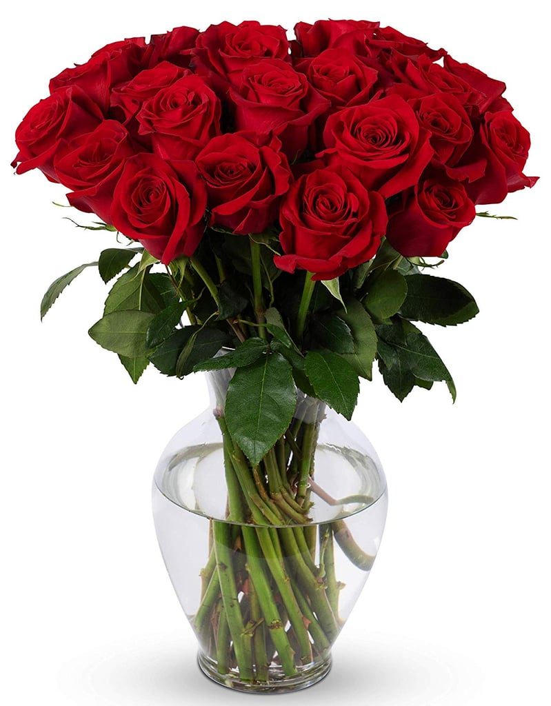 Benchmark Bouquets 2 Dozen Red Roses With Vase | Dozen Roses on Amazon | POPSUGAR Family Photo 2