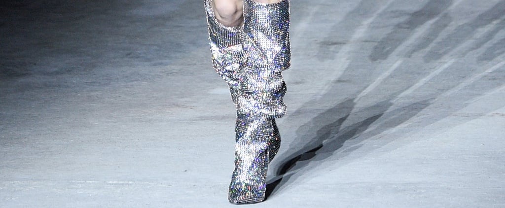 There's Probably Already a Year-Long Wait List For These Sparkly Boots