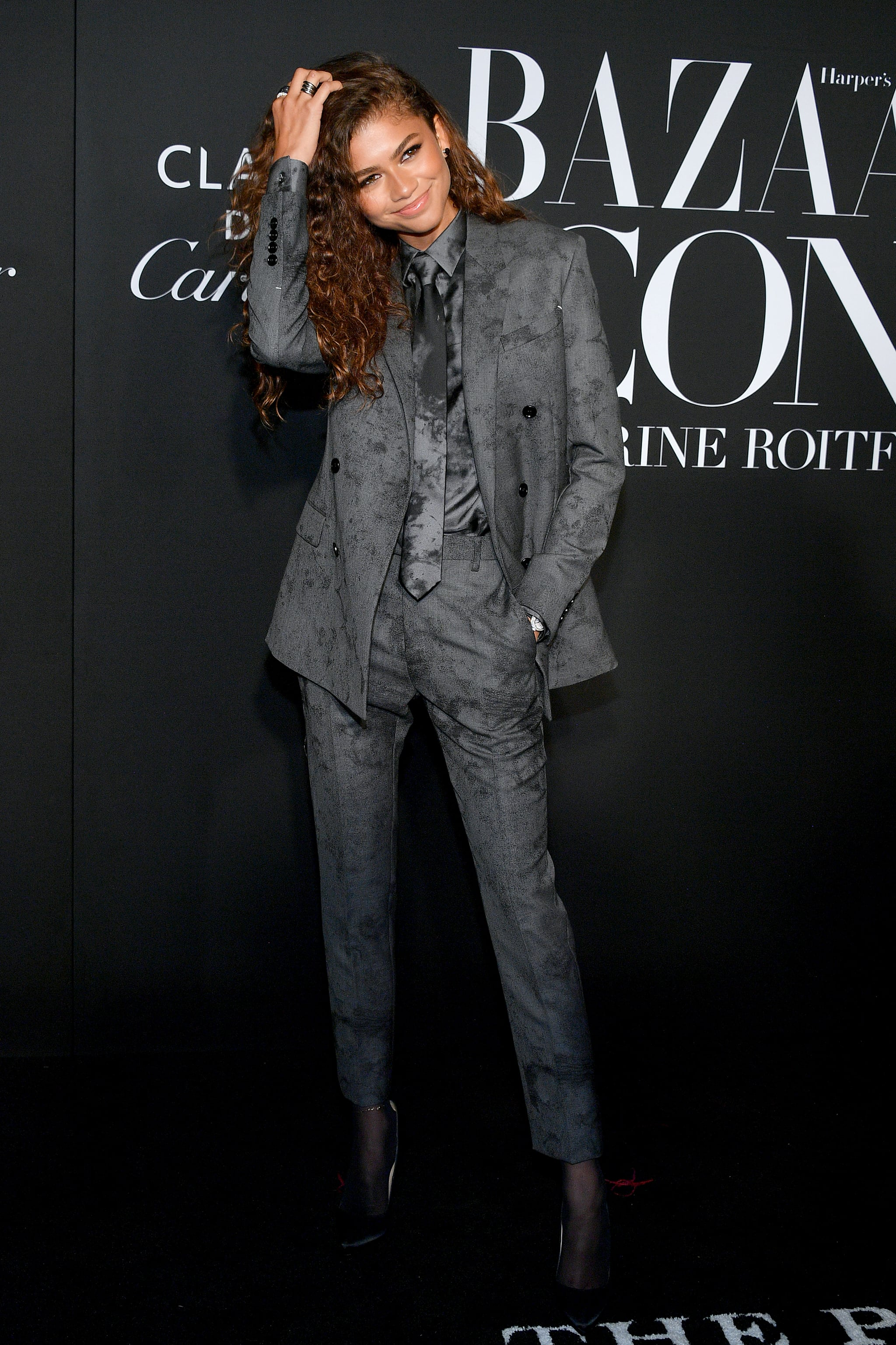 Zendaya at the 2019 Harper's Bazaar ICONS Party | Win Best ...